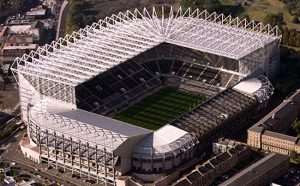 St. James' Park Aerial View Newcastle United